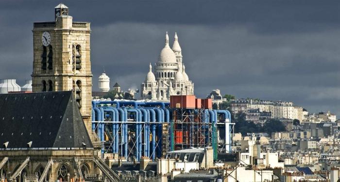 belle vue du Centre Georges Pompidou