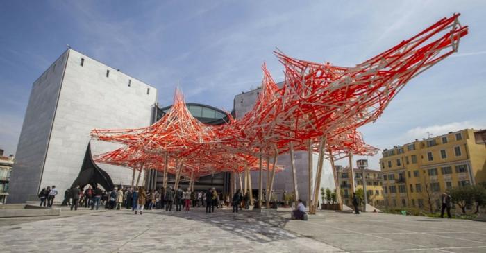 le musée d'art moderne et d'art contemporain mamac à nice