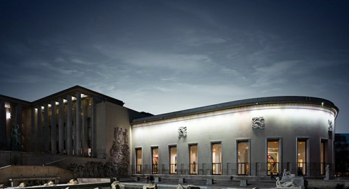 panorama nocturne musée d'art moderne paris