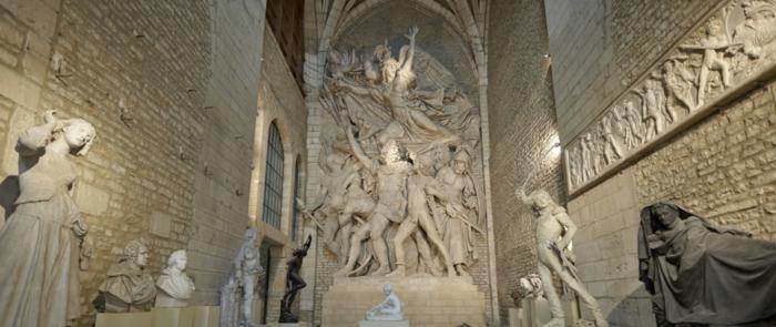 sculptures musée de Dijon