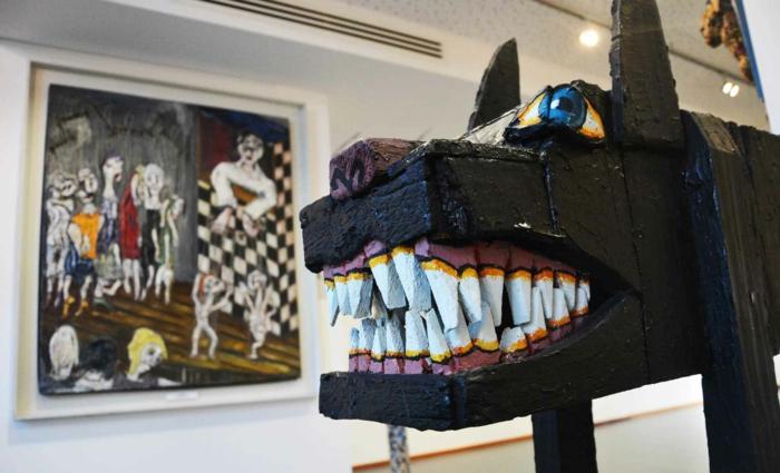 musées d'art moderne et contemporain, art brut montpellier