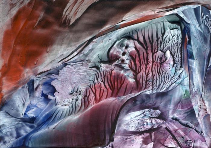 peintures wister art moderne encaustique