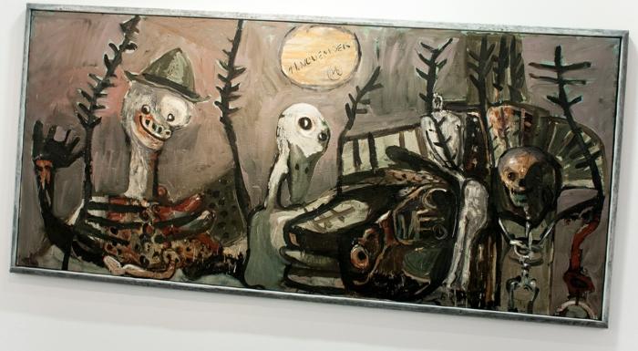 retrospective markus lupertz musée d'art moderne paris