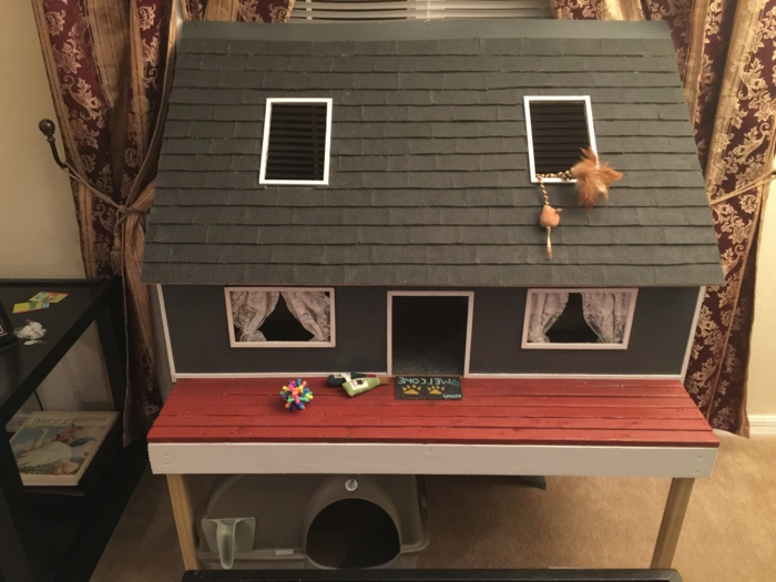 DIY maisonnette pour chat