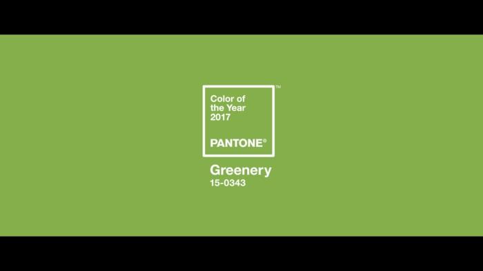La couleur tendance de 2017 Greenery,pour une composition florale mariage