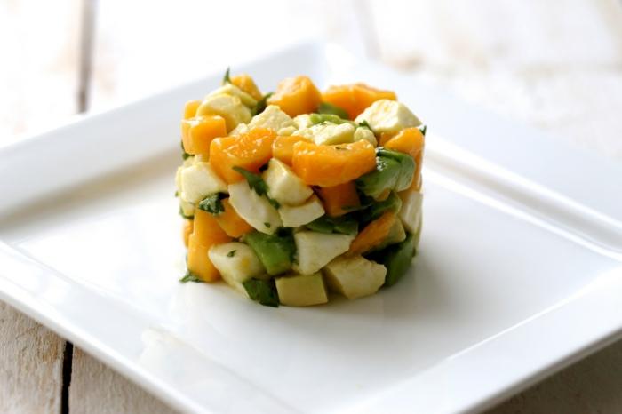 recette d'avocat et mango pour votre santé
