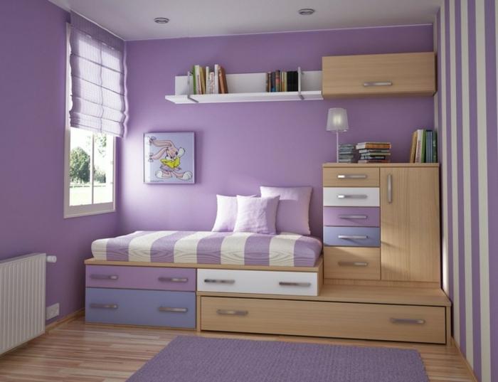 Marier les couleurs bien en bleu et violet