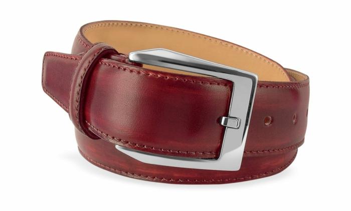 ceinture de cuir masculin