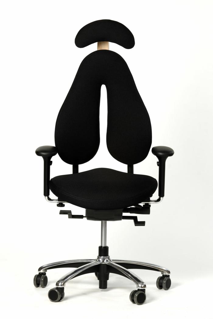 exemple de chaise avec un appui tête