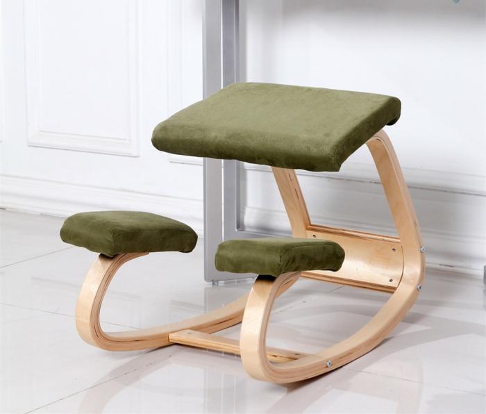 chaise ergo qui peut être par exemple utilisé à la maison