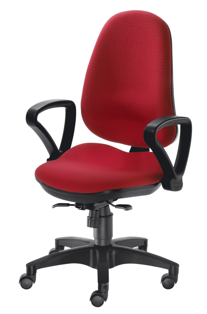 chaise ergo pivotante bas de gamme
