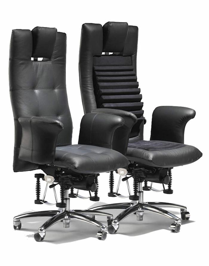 chaise ergo dont l'assise correspond à toutes les tailles