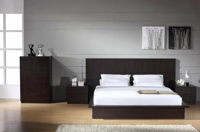 gris et maron dans la chambre