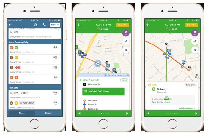 pour planifier votre itinéraire en transports en commun utilisez citymapper