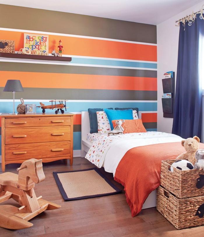 Harmoniser bien les couleurs bleu et orange
