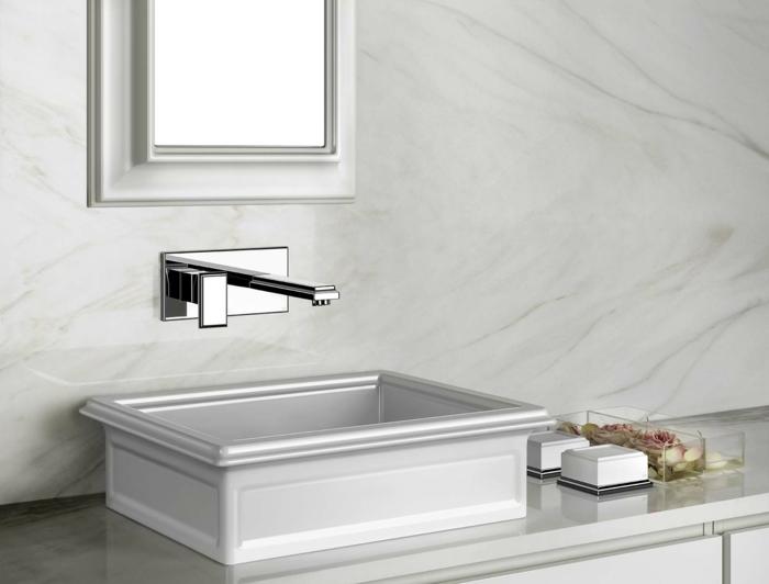 les lavabos vasque en forme de carré sont certainement très souvent préférés