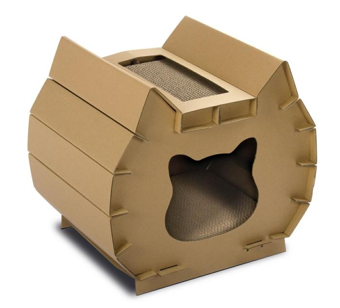 maison de chat pas cher