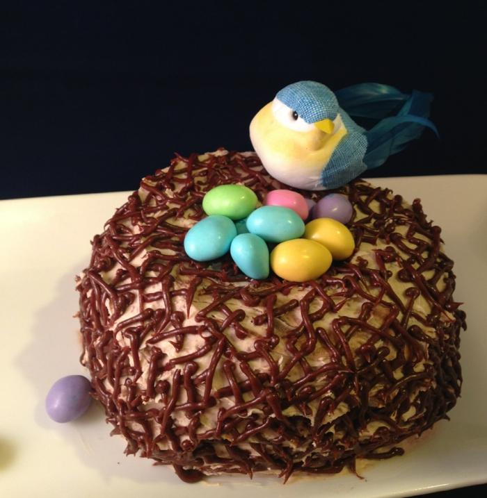 nid de pâques chocolat recette