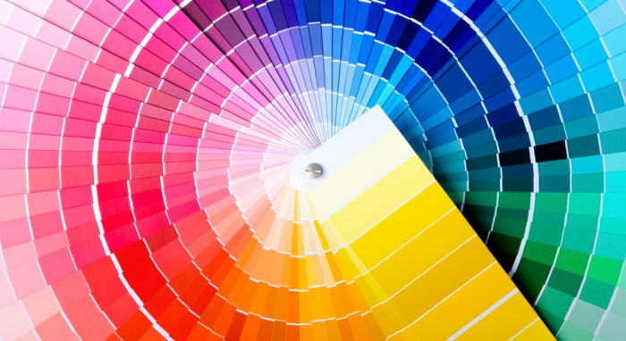 Une palette de couleurs et combinaisons