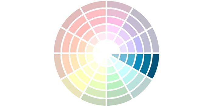 Une combinaison de couleurs monochromatiques