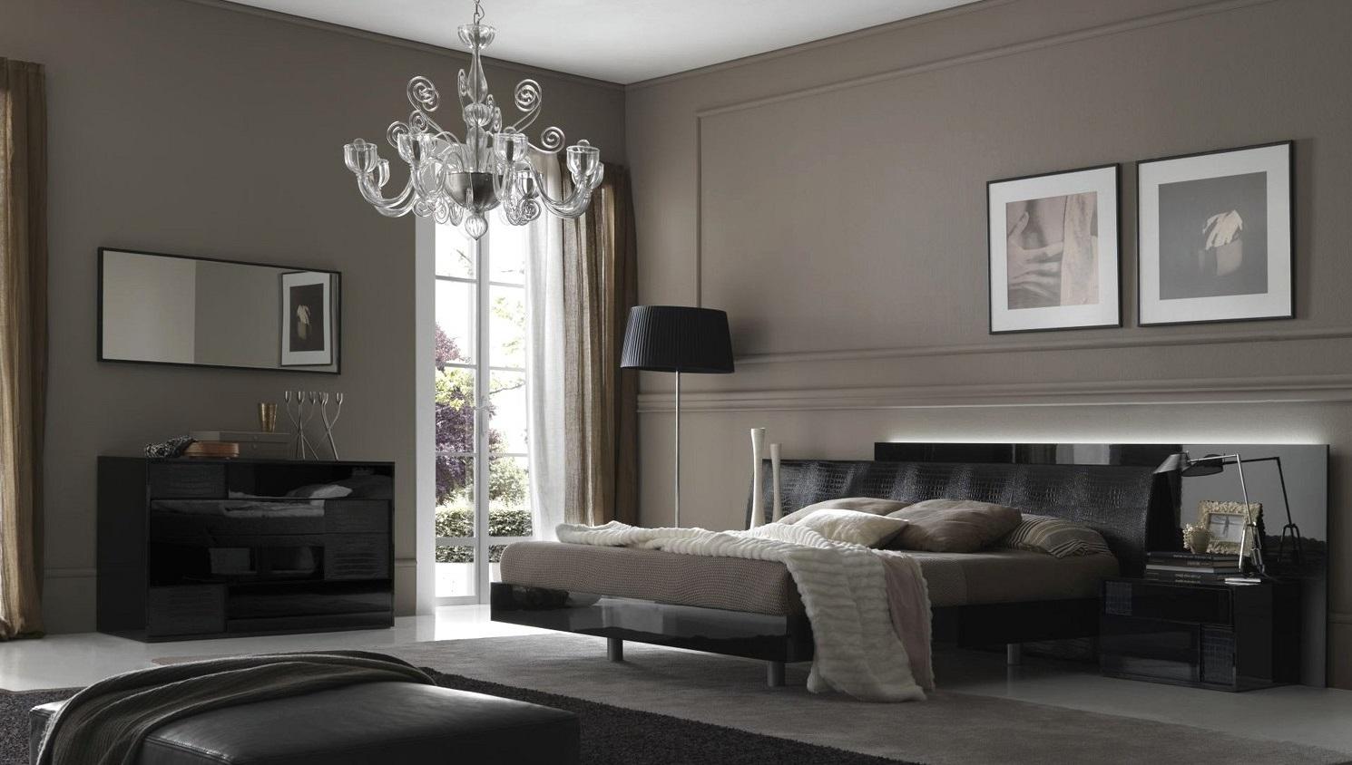 intérieur en couleur grise