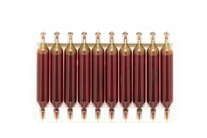 extrait de radis noir en ampoules buvables souvent vendues dans le commerce
