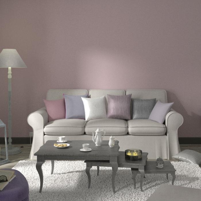 Comment marier les couleurs pastelles une table gris et une mur rose