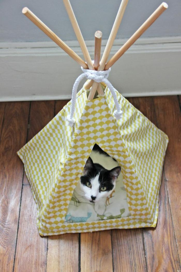 tente indienne pour chat