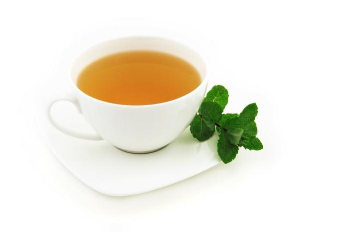 Thé de menthe