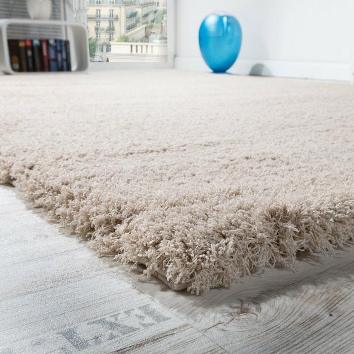 tapis shaggy beige pour votre maison