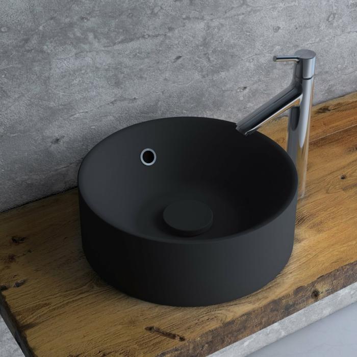 vasque à poser en résine de synthèse