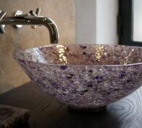 Le lavabo vasque - une perle dans la salle de bain
