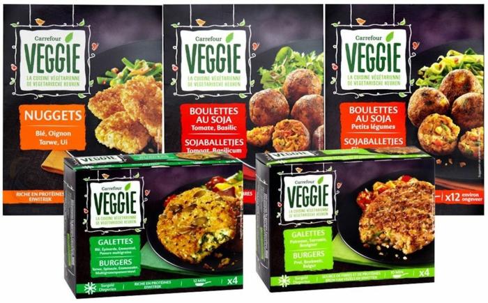 veggie gamme Carrefour