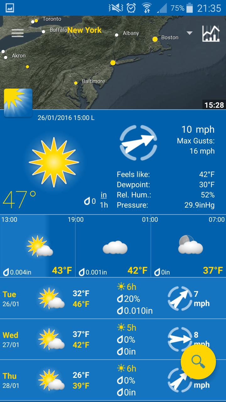 utilisez wheatherpro appli mobile afin d'avoir toute l'actualité météo