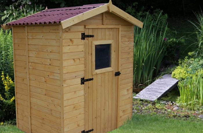par exemple c'est une cabane en bois