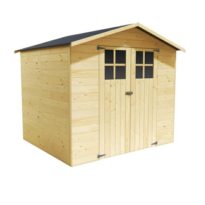 par exemple c'est un abri de jardin en bois Anvers
