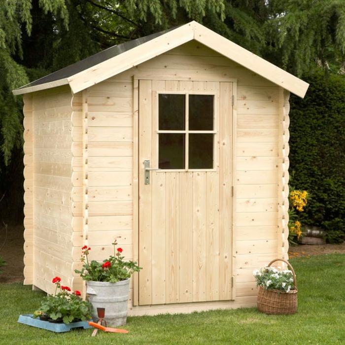 par exemple c'est un abri de jardin en bois Fatoche