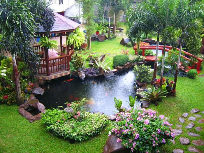 magnifique jardin feng shui