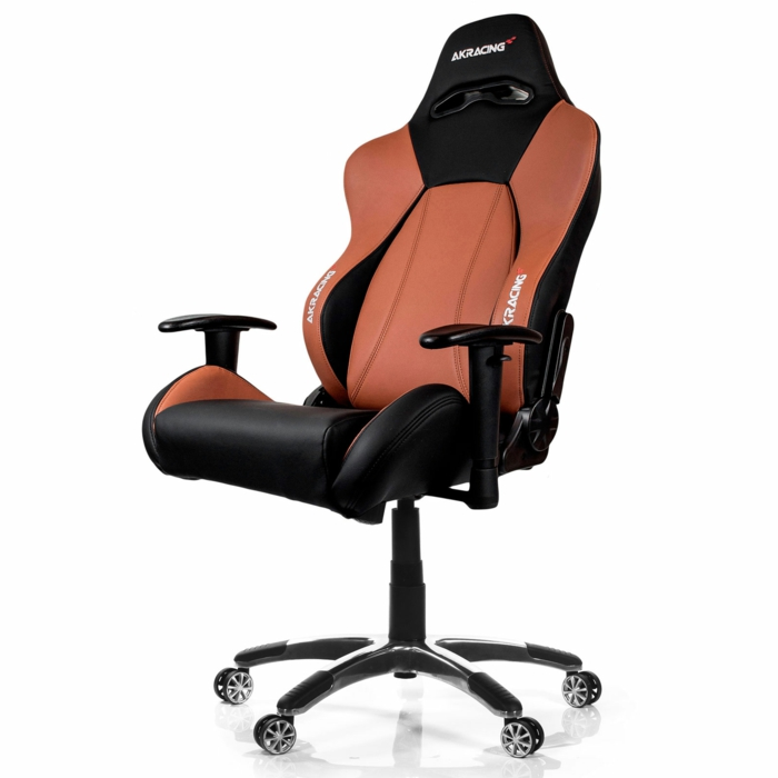 un fauteuil bureau gamer en orange