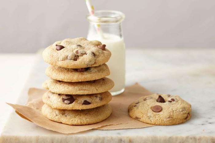 cookies photo et lait