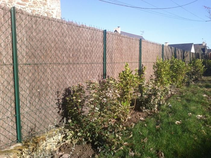 par exemple c'est une clôture de brande de bruyères