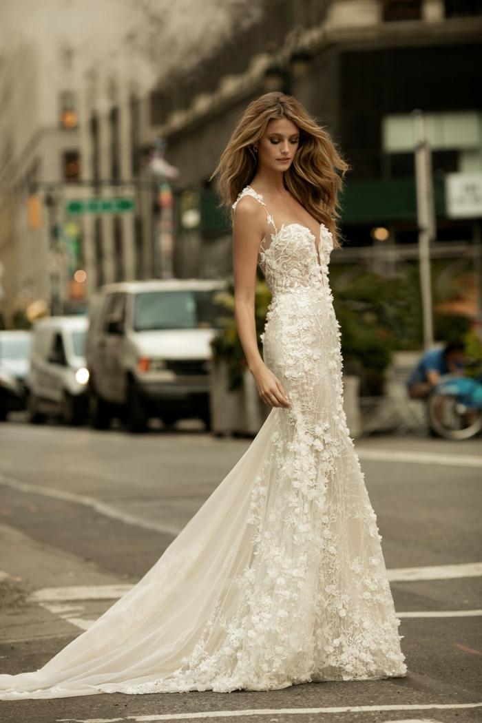 La tendance robe de mariée dentelle