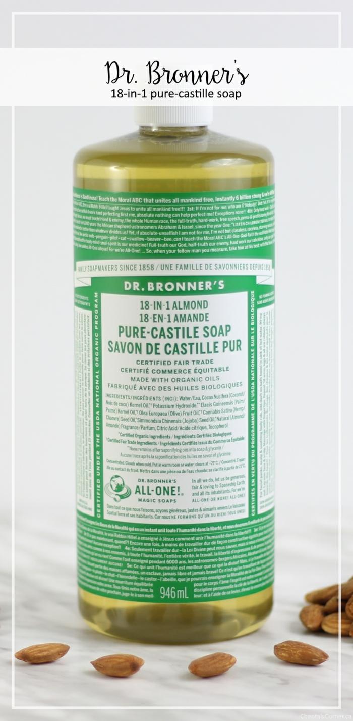 savon de Castille pur pour faire shampoing naturel à ala maison
