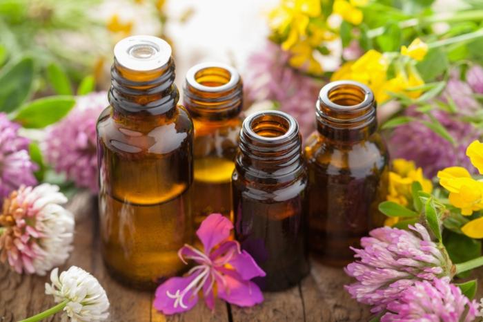 huiles essentielles shampong naturel