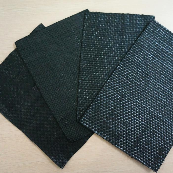 le film géotextile est souvent utilisé pour éviter le mélange des matériaux