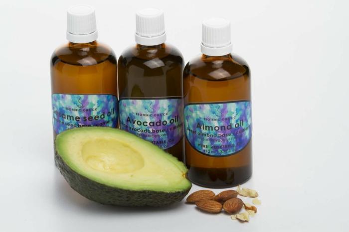 huiles essentielles shampong naturel avocat