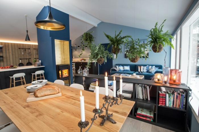 intérieur scandinave dans le salon