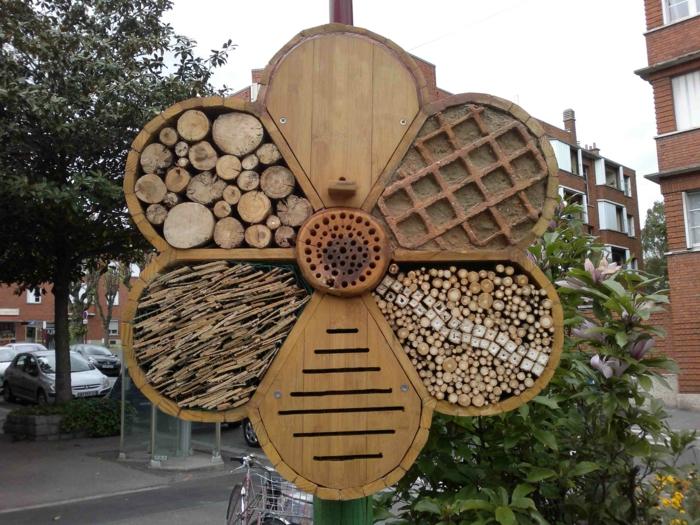 maison pour des abeilles