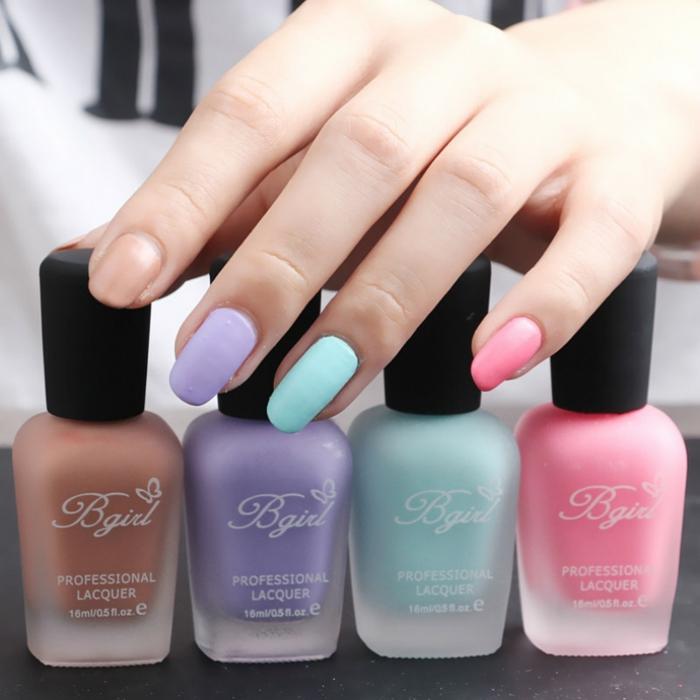 manicure ton pastels