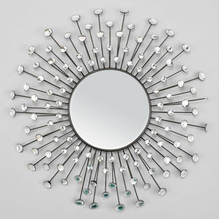 par exemple miroir mural soleil